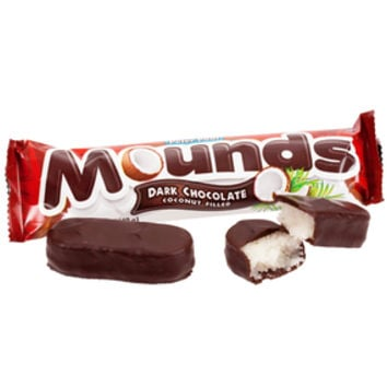 Mounds Candy Bars: 36-Piece Box