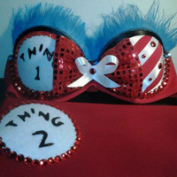 Custom outfit/ custom bra/ rave bra/ costume bra. Made to order.
