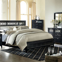Encore Black 7 Pc. King Bedroom - King Bedroom Sets - Bedroom - mobile - theroomplace - Product Groups