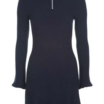 Frill Hem Zip Dress - New In This Week - New In