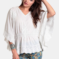 True Visionary Oversized Blouse By Raga