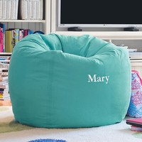 Pool Washed Twill Large Beanbag