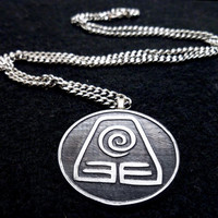 Avatar Earth Bender Necklace