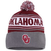Oklahoma Sooners Top of the World Ambient Knit Hat – Crimson
