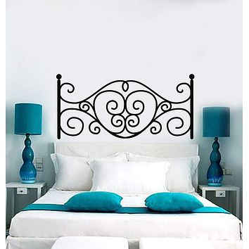 Vinyl Wall Decal Headboard Above Bed Bedroom Decoration Decor Stickers Mural (ig5615)