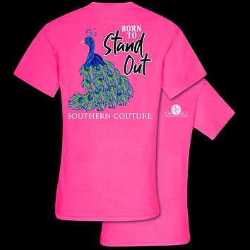 Southern Couture Born To Stand Out Comfort Colors T-Shirt