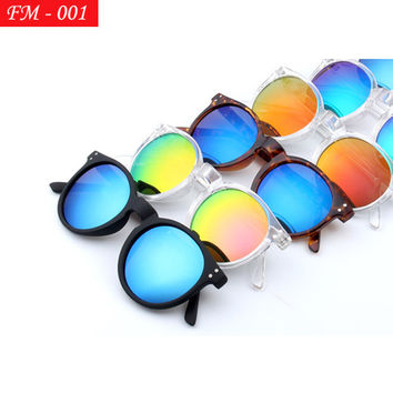 Vintage Round Shape Sun Glasses