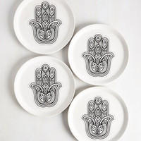 Boho Exactly as Hand Plate Set by ModCloth