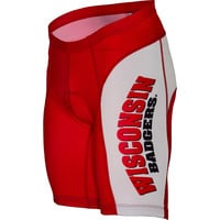 Wisconsin Badgers NCAA Flat Seam Cycling Shorts (Medium)