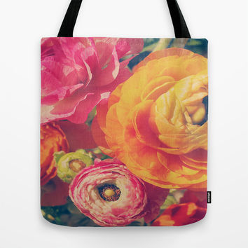Ranunculus Tote Bag by DuckyB (Brandi)