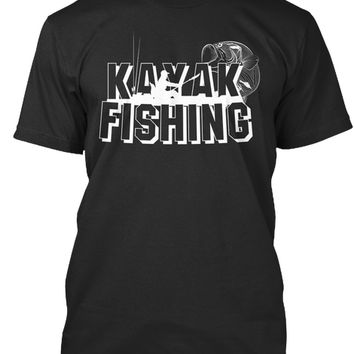 Kayak Fishing Gift T-shirt