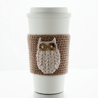 To Go travel mug, coffee tumbler, includes your choice of any Cozy in my shop