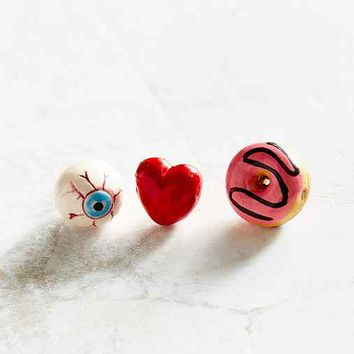Venessa Arizaga I Love Donuts Pin Set