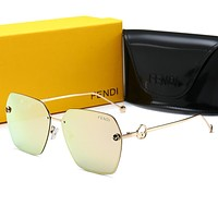 FENDI sunglass for women men +gift box 0114