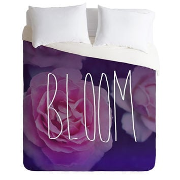 Leah Flores Bloom Duvet Cover