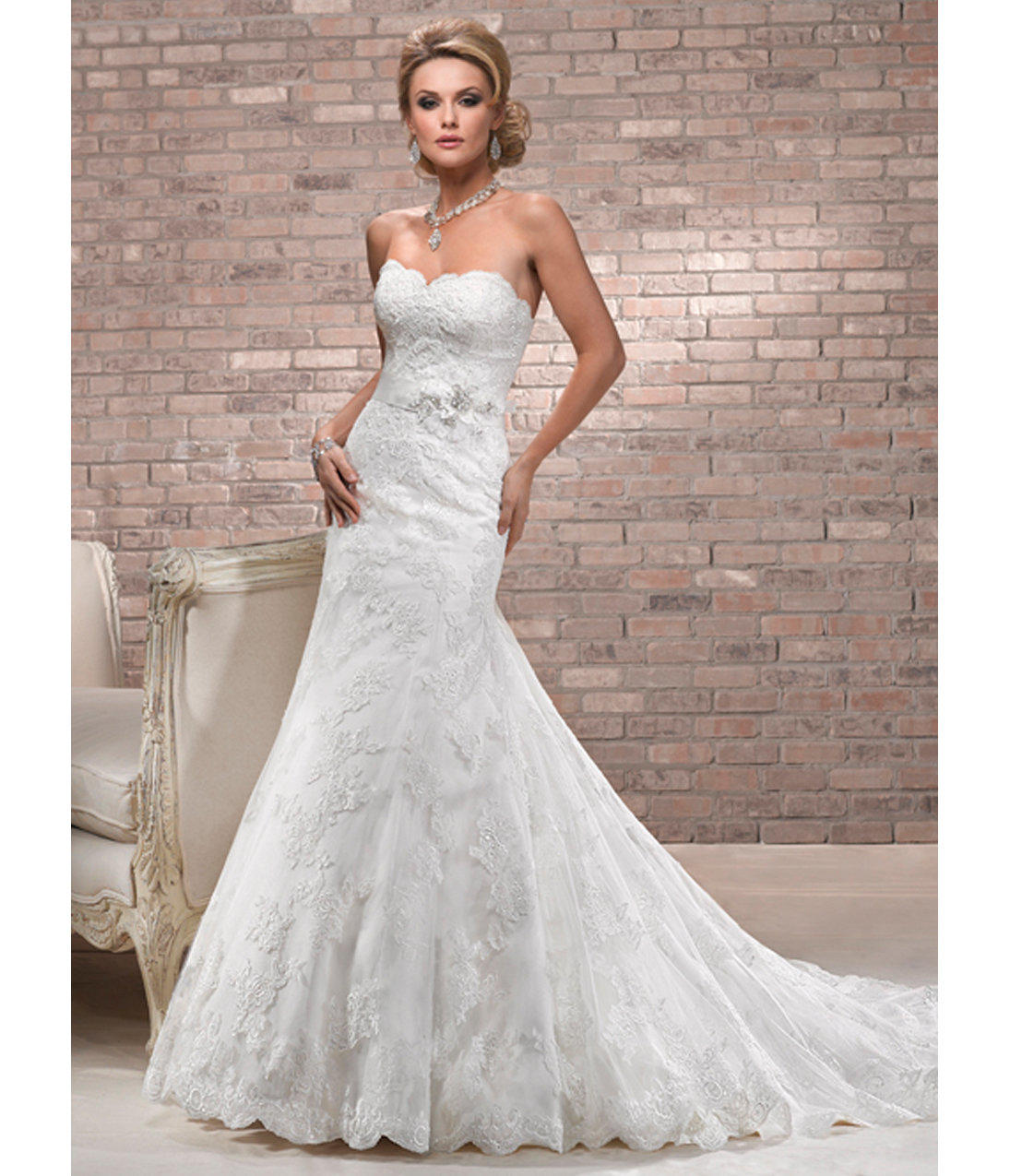 Maggie Sottero Spring 2013 Alana Ivory from Unique