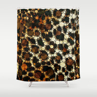 Cheetah Print Fancy Pattern  Shower Curtain by OCDesigns