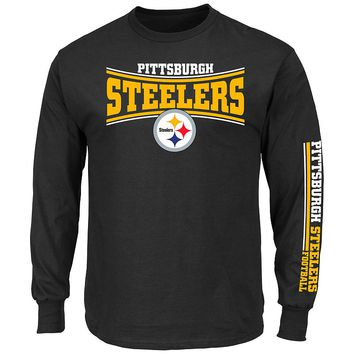 Majestic Pittsburgh Steelers Primary Receiver Tee