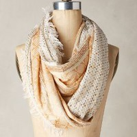 Gilded Infinity Scarf by Anthropologie in Gold Size: One Size Scarves