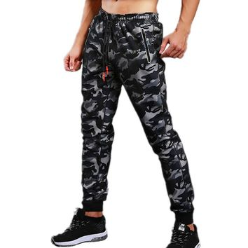 2018 Mens Crossfit Sportswear Trousers Joggers Sweatpants Gyms Camouflage Pants Fitness Men Camo Casual Pants