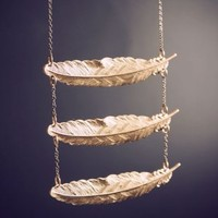 Ladder of Hope Feather Necklace