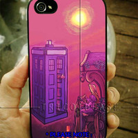 Tardis doctor who rapunsel iPhone Case And Samsung Galaxy Case
