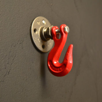 Industrial Wall Hook (Different Colors)