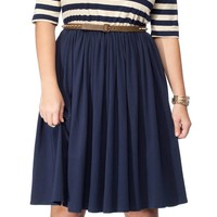 Fit and Flare Dress with 3/4 Sleeves - New Arrivals