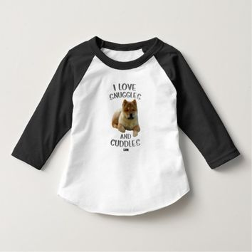 Snuggles Toddler Design by Kat Worth T-Shirt
