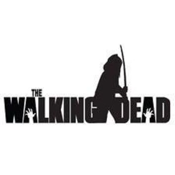 Michonne Walking Dead Katana  Vinyl Car/Laptop/Window/Wall Decal