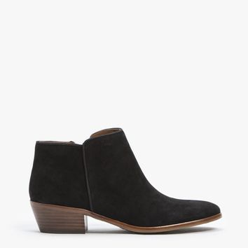 Suede Petty Boot
