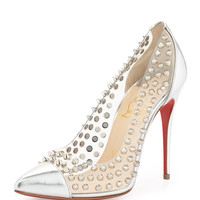 Spike Studded Red Sole Pump - Christian Louboutin