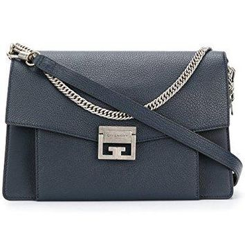 Givenchy Women's BB501DB032401 Blue Leather Shoulder Bag