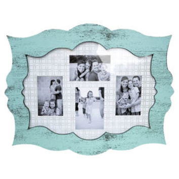 18 X 23-in Blue Scallop Collage Frame