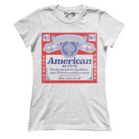 America AF Beer - White (Ladies) - 4oj