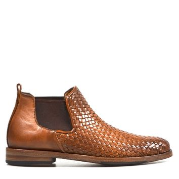 Sutro Sharon Chelsea Woven Women's Boot in Honey
