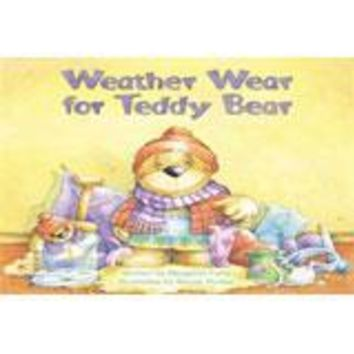 Steck-Vaughn Pair-It Books Foundation Individual Student Edition Weather Wear for Teddy Bear	Material 1228641 changed