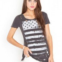 Faded Flag Tee | NASTY GAL | Jeffrey Campbell shoes, Cheap Monday, MinkPink, BB Dakota, UNIF + more!