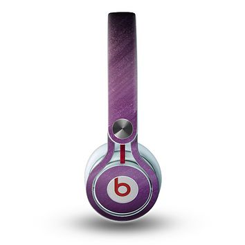 The Purple Dust Skin for the Beats by Dre Mixr Headphones
