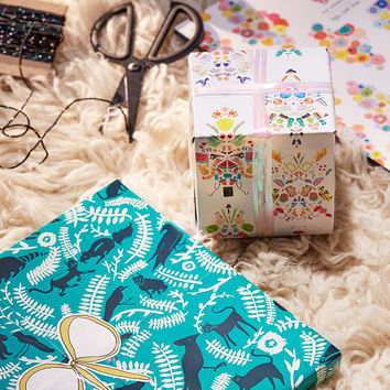 Flat Vernacular Wrapping Paper Book - Urban Outfitters