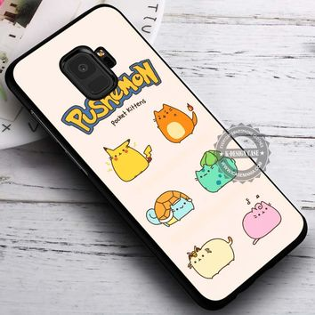Cute Anime Pushemon Pokemon iPhone X 8 7 Plus 6s Cases Samsung Galaxy S9 S8 Plus S7 edge NOTE 8 Covers #SamsungS9 #iphoneX
