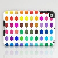 Colorful iPad Case - Hexatone - unique iPad case