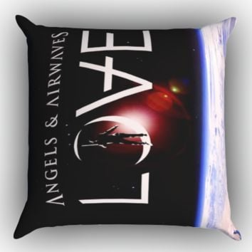 Angels Airwaves Y0375 Zippered Pillows  Covers 16x16, 18x18, 20x20 Inches