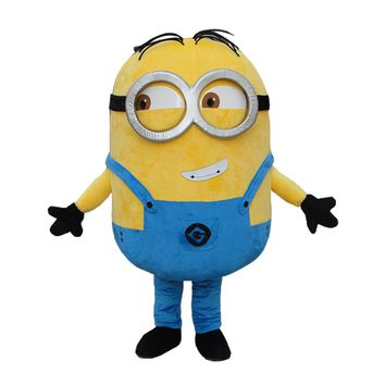 34 styles Minions  Mascot Costume EPE Fancy Dress Outfit Adult  mascot costume Xmas Gift for Halloween party