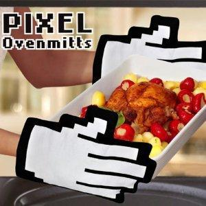 Pixel Hands Mouse Pointer Mittens