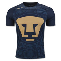 Mexico Pumas UNAM 2016/17 Away Men Soccer Jersey Personalized Name and Number