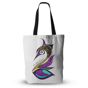 "Pom Graphic Design ""Dreams Swan"" Everything Tote Bag"