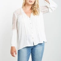 Petra Long Bell Sleeve Top Plus Size