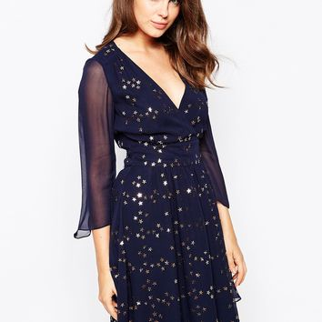 French Connection Million Stars Embellished Dress