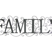 Black Family Metal Wall Decor | Shop Hobby Lobby
